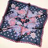 шелковый итальянский платок