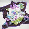 итальянский шелковый платок