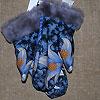 рукавицы из павлопосадского платка