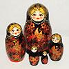 русская расписная матрешка, фотография 7