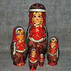 матрешка - русский сувенир, фотография 1