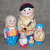 матрешка - русский сувенир, фотография 14