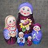 матрешка - русский сувенир, фотография 16