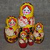 матрешка - русский сувенир, фотография 17
