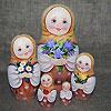 матрешка - русский сувенир, фотография 3