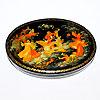 палехские расписные шкатулки, фотография 11