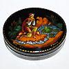 палехская шкатулка расписная ручной работы