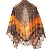 пуховой платок ручной работы