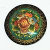 Мстерская расписная шкатулка, ручная роспись мастеров Мстеры, фотография 1