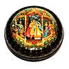 Мстерская расписная шкатулка, ручная роспись мастеров Мстеры, фотография 14