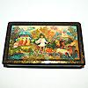 Мстерская расписная шкатулка, ручная роспись мастеров Мстеры, фотография 7