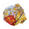 итальянский шелковый платок, фотография 10