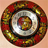часы хохлома, фотография 2