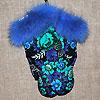 рукавицы из павлопосадского платка, фотография 4
