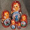 жостовские подносы купить в магазине русских сувениров, фотография 8