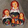 жостовские подносы купить в магазине русских сувениров, фотография 10