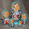 жостовские подносы купить в магазине русских сувениров, фотография 12