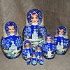 жостовские подносы купить в магазине русских сувениров, фотография 15