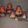 русская матрешка купить в магазине русских сувениров, фотография 17