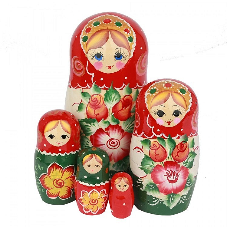 Матрешки, платки и сувениры к 23-му февраля, фотография 5