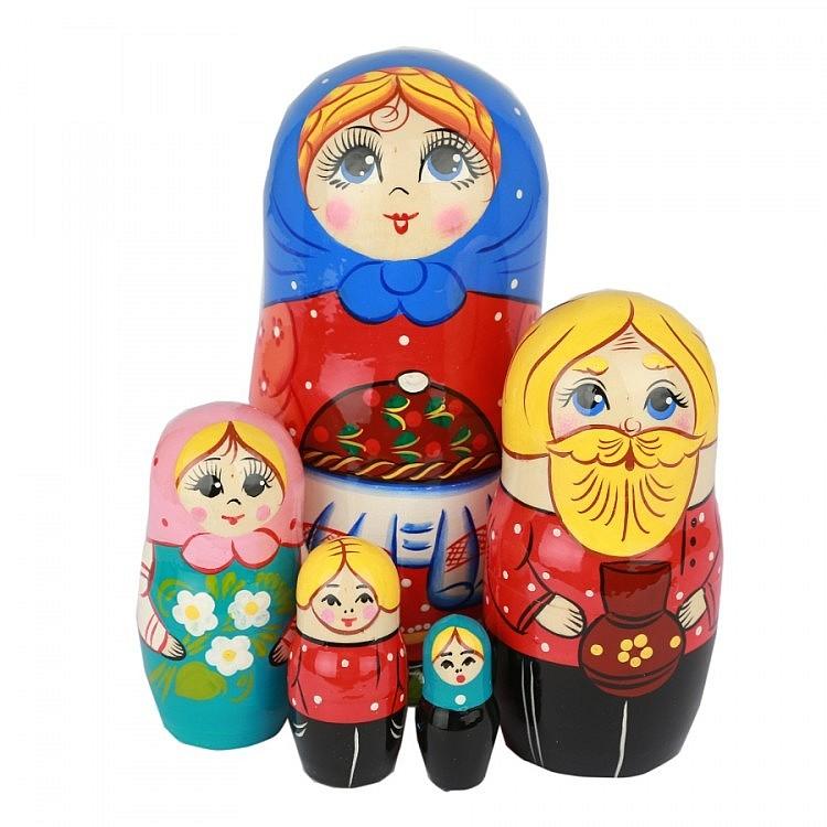 Матрешки, платки и сувениры к 23-му февраля, фотография 10
