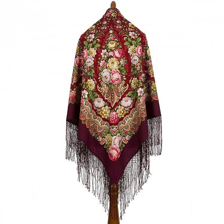 Павлопосадские платки и шкатулки, фотография 2