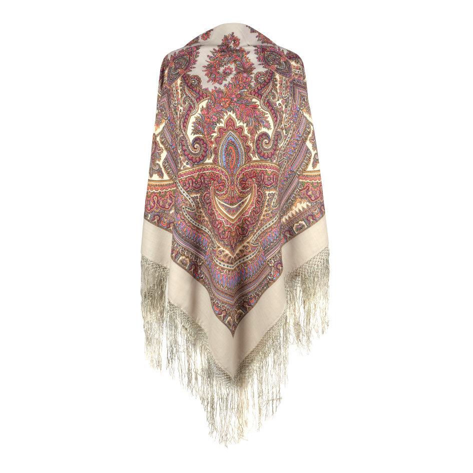 платок волшебный узор 2