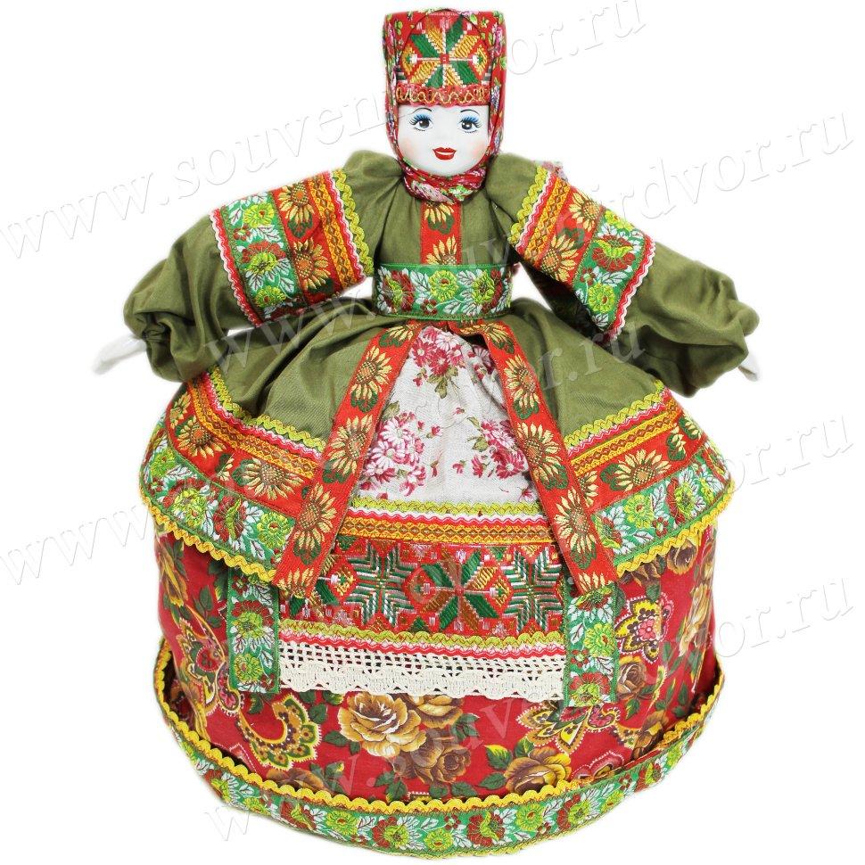 Купить Кукла с фарфоровым лицом в национальном костюме ...