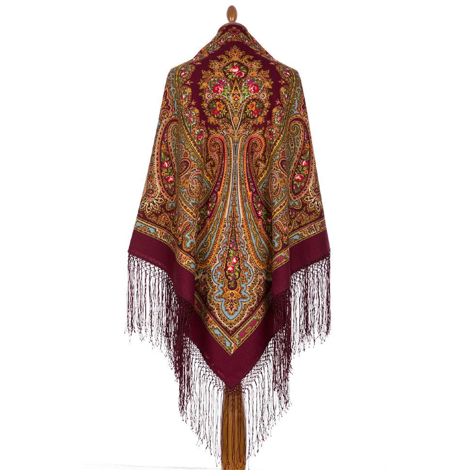 волшебница 18 платок павлопосадский