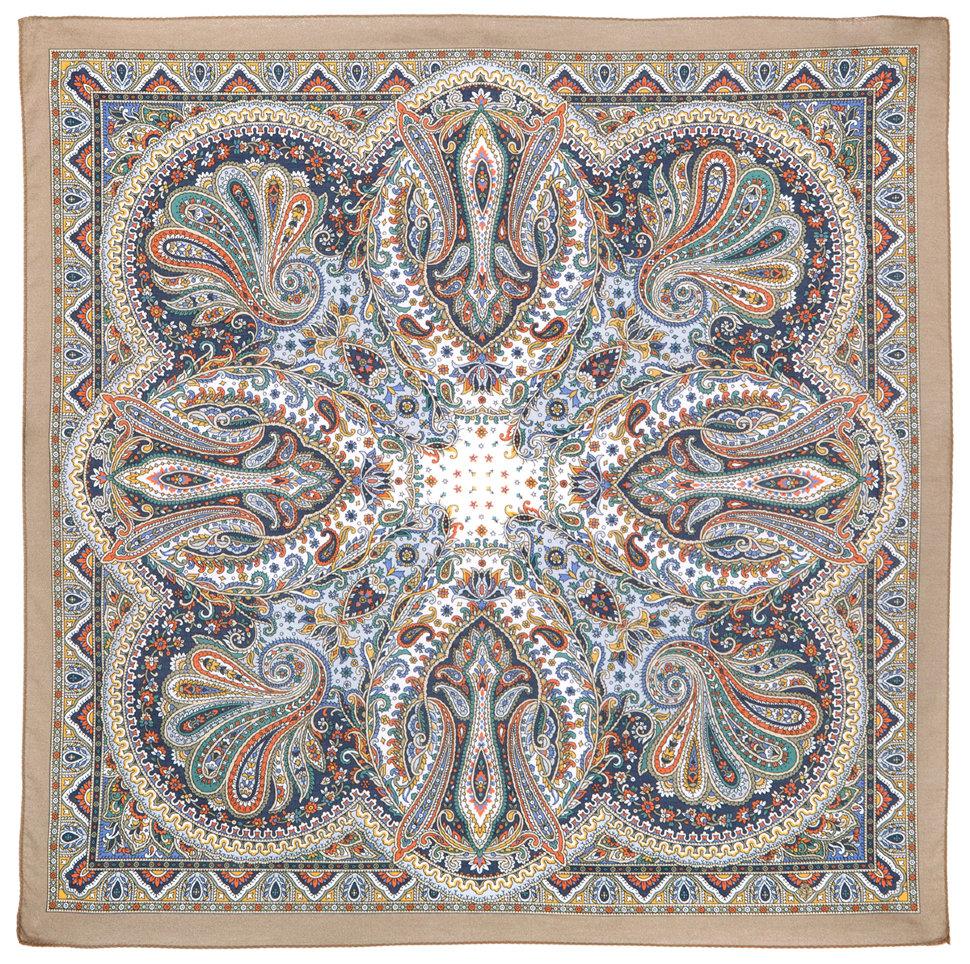 платок тальянка павлопосадский